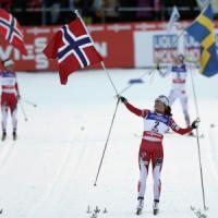 Sci fondo, Mondiali: Bjoergen da leggenda, vinto il 13esimo oro iridato