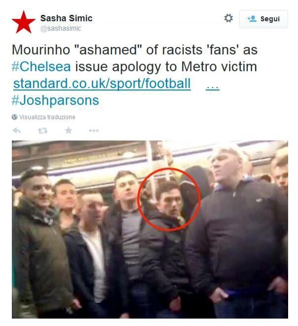 """""""È un fan di Farage"""": identificato uno degli ultras razzisti del Chelsea a Parigi"""