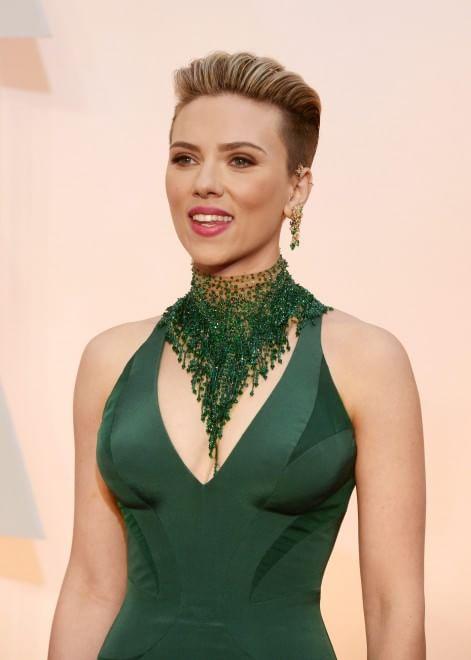 Oscar 2015, sorpresa Scarlett: il taglio è rasato - la ...