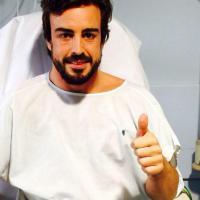 """Alonso twitta dall' ospedale: """"E' tutto ok"""""""