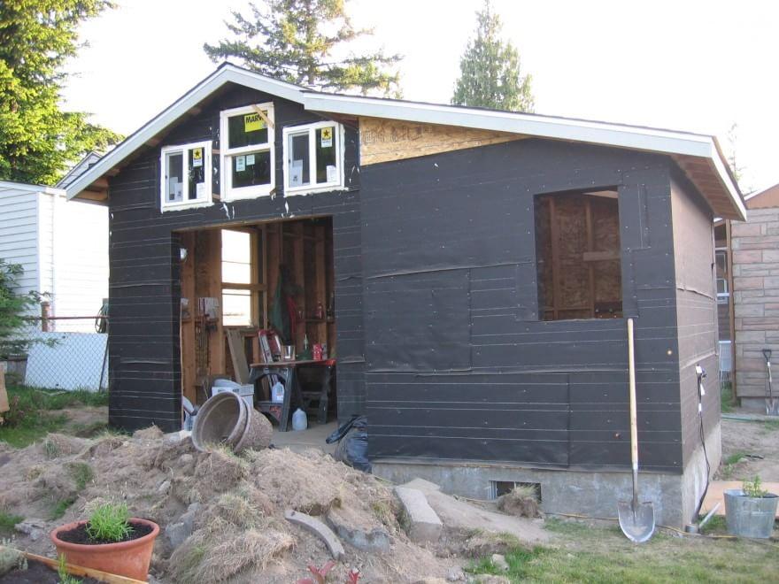 piccola con stile la mini casa in un vecchio garage