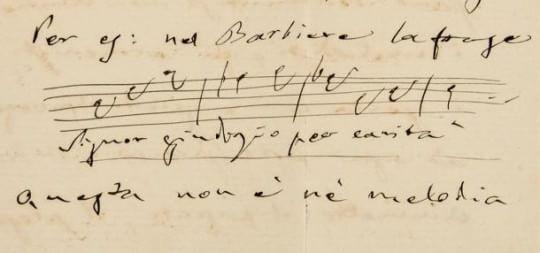 """Ti avrei ricevuto a zampe aperte"", firmato Giuseppe Verdi"