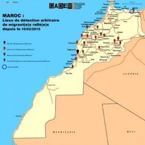 Marocco, più di 800 migranti sub-sahariani detenuti in tutto il Paese