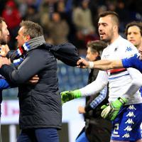 Sampdoria-Genoa: Mihajlovic furioso, prende per il collo Regini