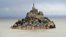 Mont Saint-Michel  foto    torna isola dopo 135 anni Il 21 marzo marea record