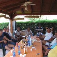 'Ndrangheta, a tavola con il boss: le foto che inguaiano Iaquinta