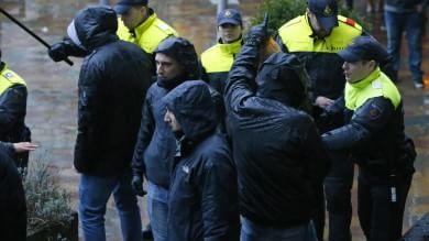 Tensione Feyenoord-Roma   video     Fermati per ore decine di italiani