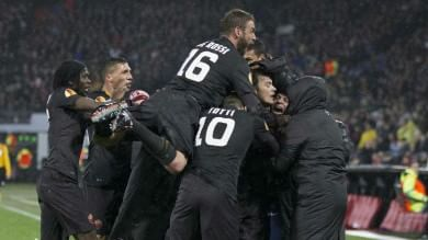 Europa League: tutte le italiane avanti  La Roma vince a Rotterdam  Impresa Torino a Bilbao