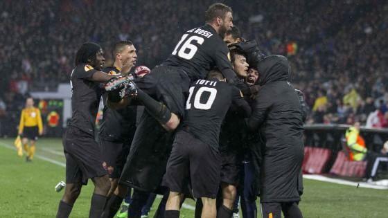 Feyenoord-Roma 1-2, Gervinho firma la qualificazione
