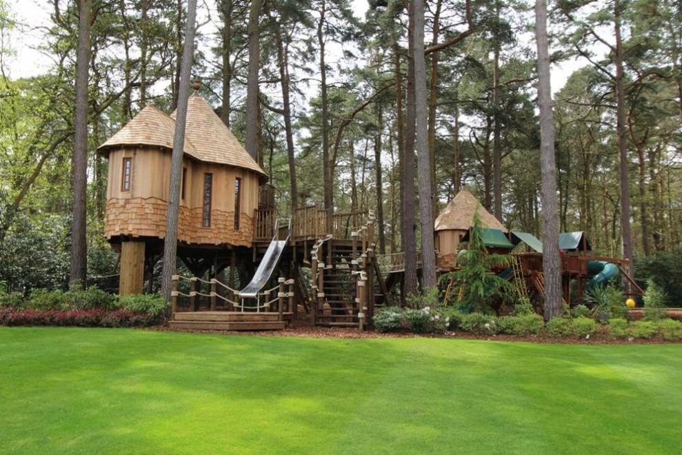 Da gioco per bambini a rifugio extra lusso la casa sull - Progetto casa sull albero per bambini ...