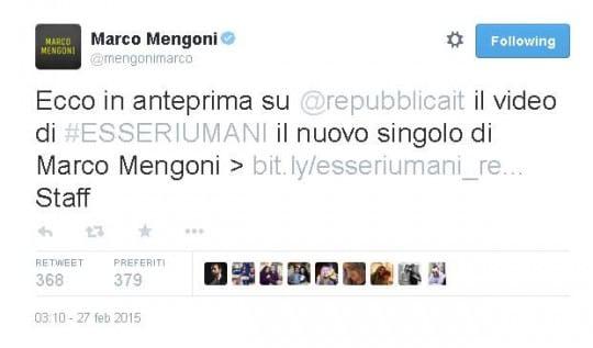 """Marco Mengoni, il nuovo singolo è """"Esseri umani"""": """"Credo nel coraggio"""""""