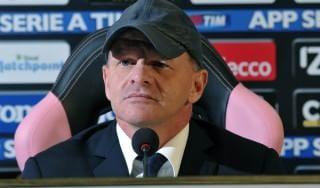 Palermo, Iachini: ''Con Zamparini tutto ok, Empoli squadra importante''