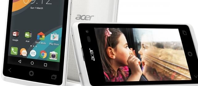 Acer, nuovi smartphone e smartband. E punta su Windows   foto