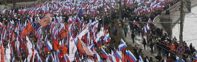 Mosca, folla a marcia opposizione   foto     video