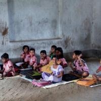 Bengala, i bambini salvati