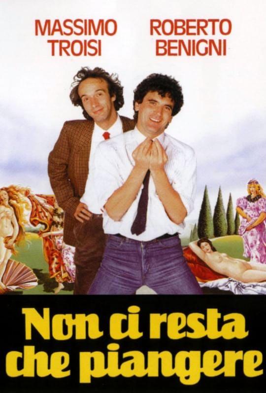 """""""Non ci resta che piangere"""", quando Troisi e Benigni giocavano a scopa con Leonardo"""