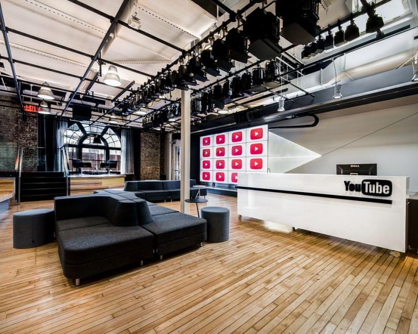 YouTube compie 10 anni: ecco gli studios di New York