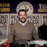 """Salvini: """"La Ue peggio di Mussolini, lo spread al posto dell'olio di ricino"""""""
