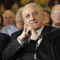 """De Luca: """"Non sono Berlusconi, tocca ai gruppi Dem aiutare la mia corsa senza regole..."""