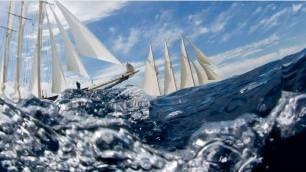 A gonfie vele: paesaggi con barche