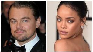 DiCaprio e Rihanna, compleanno di coppia