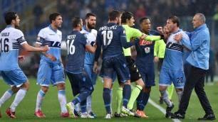 C. Italia, la sfida resta aperta Andata Lazio-Napoli 1-1   foto