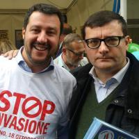 Gli amici 'neri' di Salvini e Tosi: skinhead, ex Msi e antisionisti