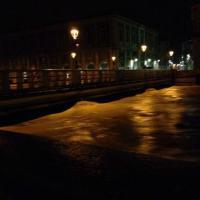 Senigallia, la piena del fiume Misa