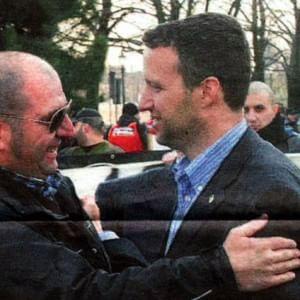 Skinhead, ex Msi, antisionisti: le amicizie nere dei duellanti della Lega