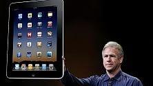 Slitta a settembre la produzione del maxi iPad