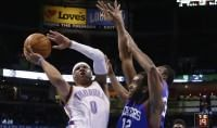Westbrook come Jordan   vd   Bene Gallinari, Denver ok