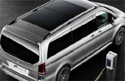 """Concept """"V-ision e"""", il futuro della Classe V secondo Mercedes-Benz"""