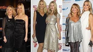 Stesso stile, identico look quando madri e figlie sono 'cloni'