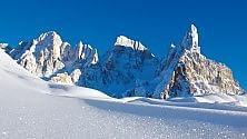 Eden giorno e notte Dolomiti, sciate tecno & slow    foto