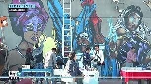 Street art in stazione Così i muri 'parlano'