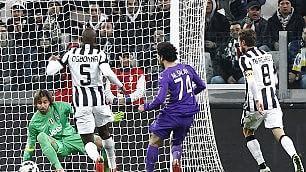 Salah, una notte da sogno   foto     Juve-Fiorentina finisce 1-2