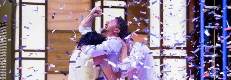"""Masterchef, vince Stefano - Ascolti record -  Foto   -   Video : Sky: """"Striscia ha colpito gli spettatori"""""""