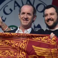 """Lega, Salvini: """"Ora basta, si lavora con Zaia"""". La replica di Tosi: """"Se frattura, io..."""