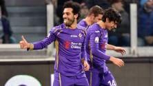 Salah stende la Juve   foto     Fiorentina vede la finale       Vd  La magia dell'egiziano