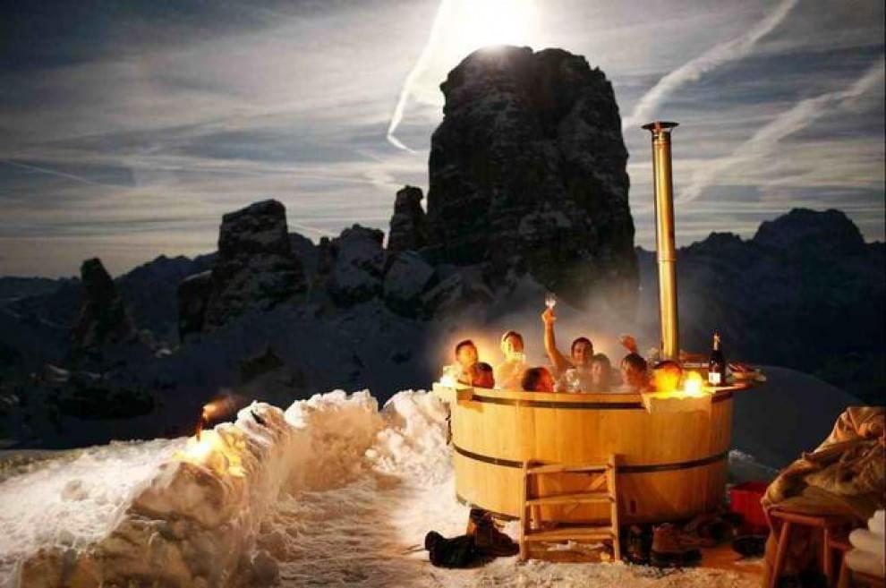 Caldo e freddo di lusso i bagni termali pi belli del mondo - Il bagno piu bello del mondo ...