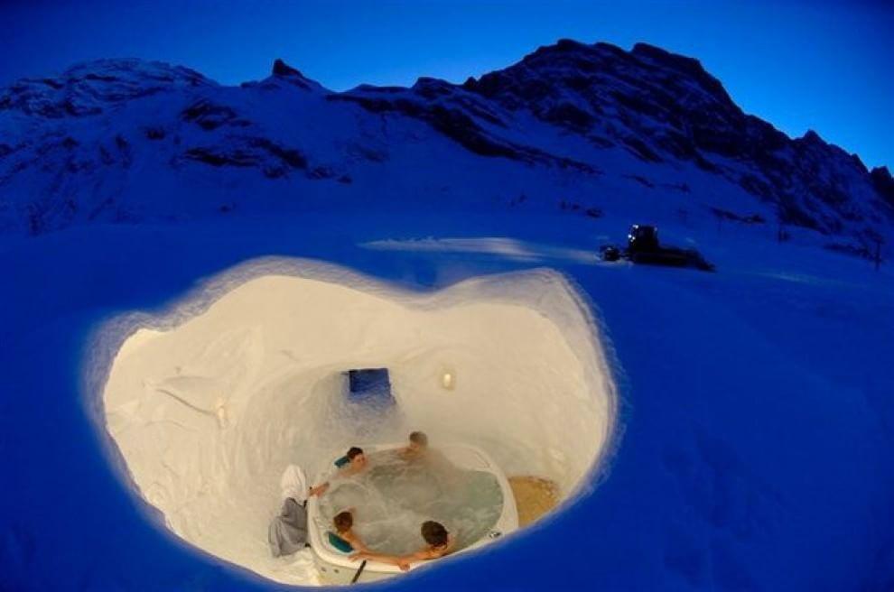 Caldo e freddo di lusso: i bagni termali più belli del mondo ...