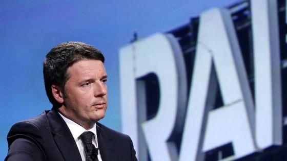 Rai, il piano Renzi: al vertice manager nominato dal governo, alle Camere solo il controllo