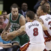 Basket, Nba: Datome finalmente protagonista, i Celtics passano a Miami