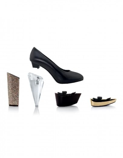 """Ecco le """"Albertine"""", le scarpe componibili con il sistema 'stacca e attacca'"""