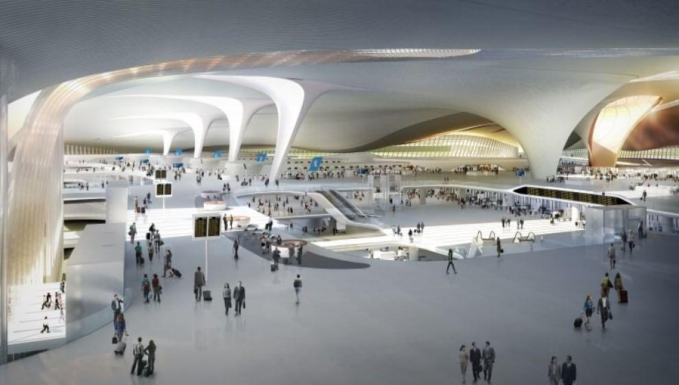 Cina il pi grande aeroporto del mondo sar pronto nel for Grandi piani del ranch