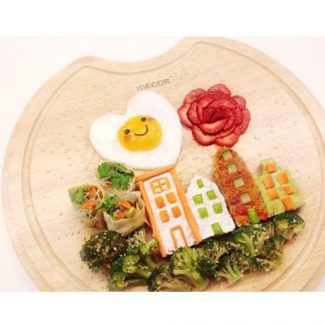 Food Art, sul tagliere le delizie vegetariane di Sim C ispirate ai cartoon