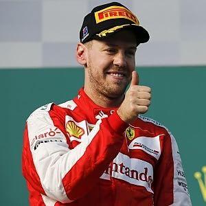 """Vettel il Rosso felice terzo dietro i mostri """"La mia bella Ferrari"""""""