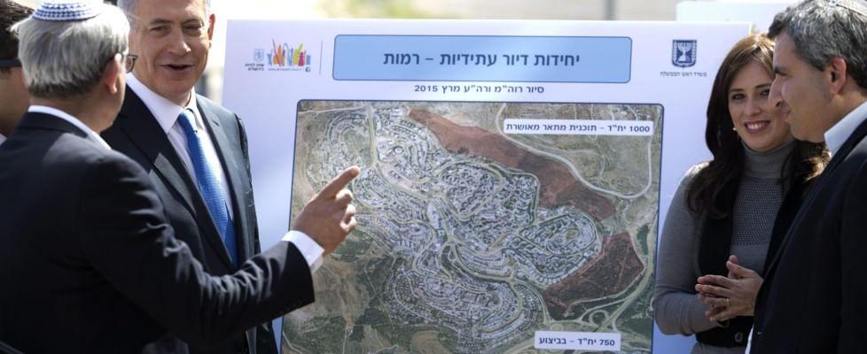 """Israele al voto, il premier Netanyahu promette: """"Con me nessuno Stato palestinese"""""""