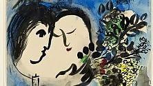 L'amore secondo Chagall una mostra a Roma