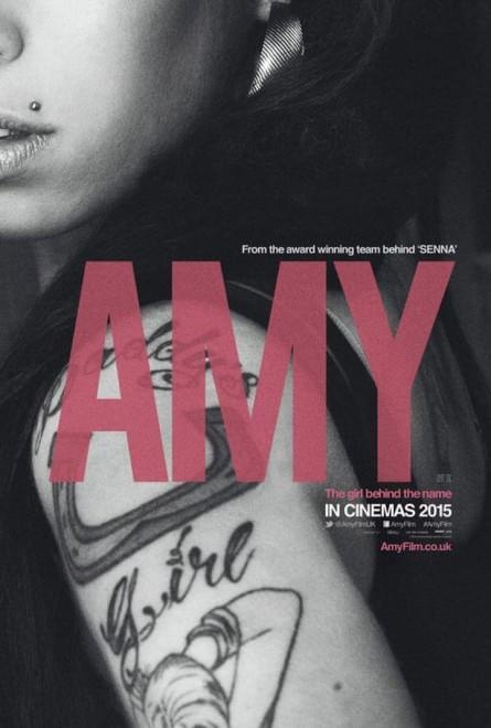 """Il poster di """"Amy"""", il documentario che svela la vera Winehouse"""